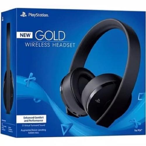 Foto Produk GOLD Wireless Headset Black PS4 dari Cloudify