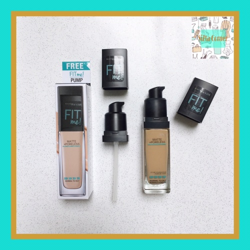 Foto Produk Maybelline Fit Me Foundation Pump dari SiZta Corner
