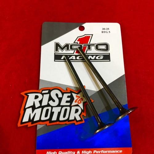 Foto Produk Klep Moto 1 uk 30/25 batang 5 dari risemotor