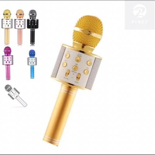 Foto Produk PINZY Wireless Microphone & HIFI Speaker WS858 dari PINZY Official Store