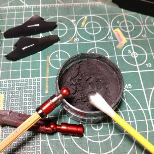 Foto Produk rub on metal chrome powder dari jayjayhobbies