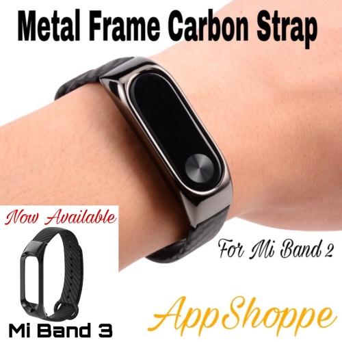 Foto Produk Xiaomi Mi Band 2 Replacement Strap Carbon Fiber Wristband dari AppShoppe
