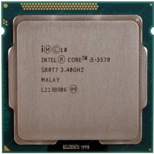 Foto Produk PROCESSOR INTEL CORE I5 3570 TRAY SOCKET 1155 dari 3rdcomp