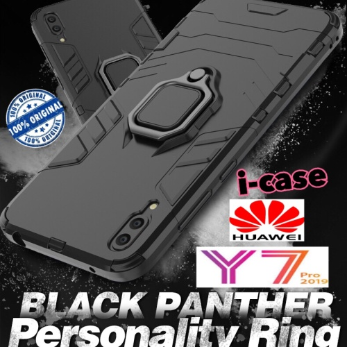 Foto Produk Case Huawei Y7 Pro 2019 iron armor i-ring stand - casing cover y7 pro dari i-case