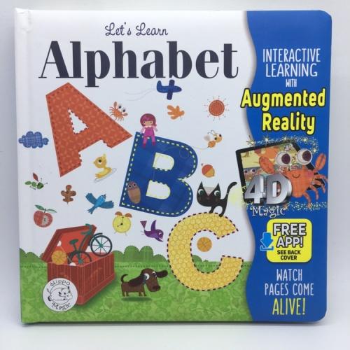 Foto Produk Buku import Augmented Reality 4D Magic seri Alphabet ABC by. Hippo mag dari Hiroshi official
