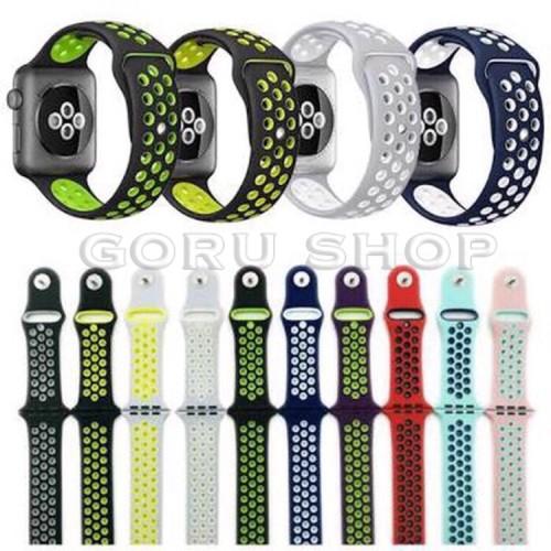 Foto Produk Strap apple watch nike iwatch series 1 2 3 4 sport band 42 44 mm ori dari goru