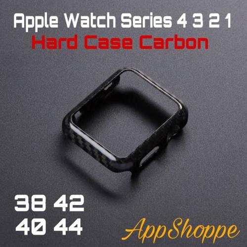 Foto Produk Apple Watch Series 4 Carbon Fiber Texture Bumper Case 40mm 44mm dari AppShoppe