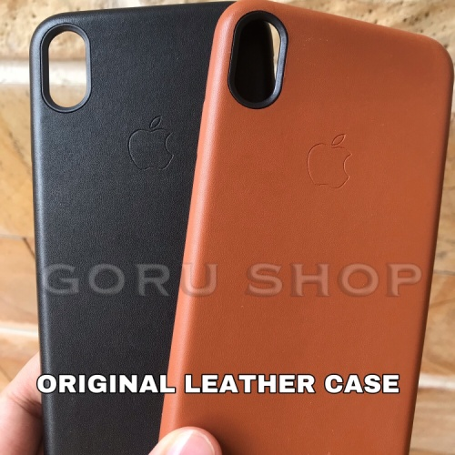 Foto Produk Leather case iphone 6 6s 7 8 plus 7+ 8+ soft hard kulit original apple dari goru