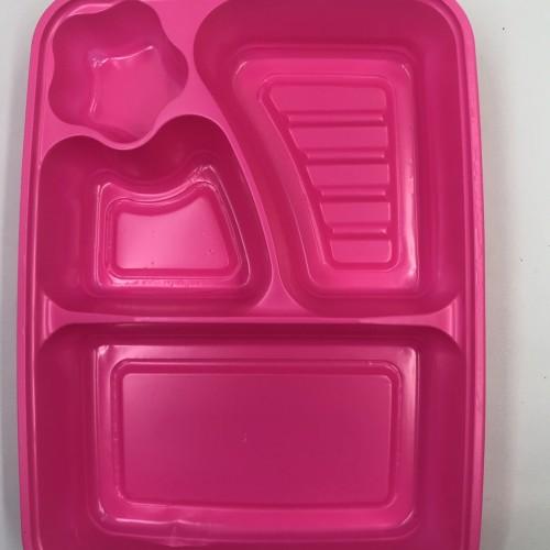 Foto Produk mika tray bento sekat 4 bintang dari Agen Plastik Nusantara