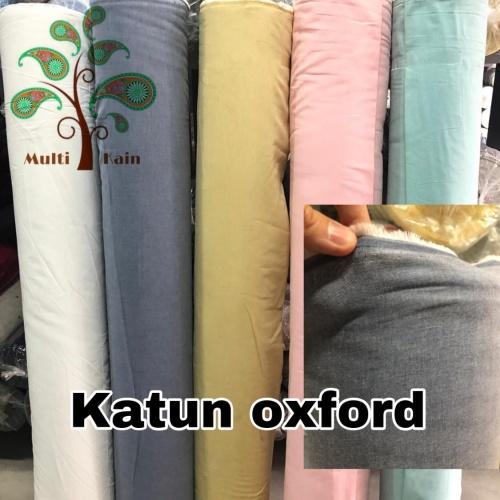 Foto Produk Bahan kain katun oxford / chambrey / cembrey / cembrai murah - 5322 biru kme dari multi kain
