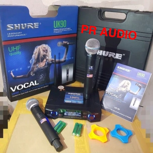 Foto Produk Mic Wireless SHURE UK90 / UK 90 / UK-90 dari PR Audio