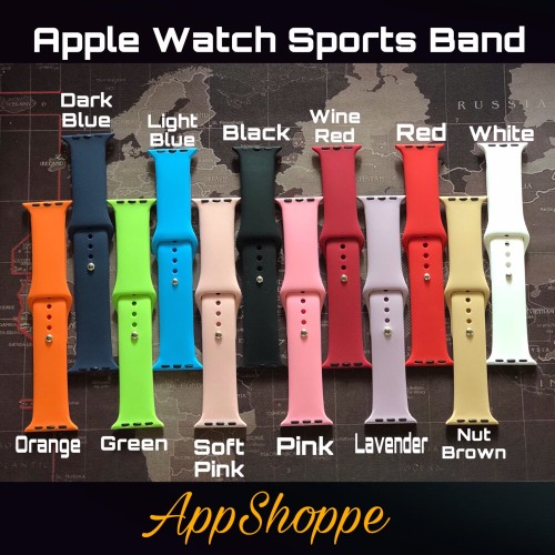 Foto Produk iWatch Apple Silicone Strap Replacement 38mm 42mm dari AppShoppe