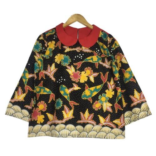 Foto Produk Atasan batik wanita komet blouse dari rheazalea