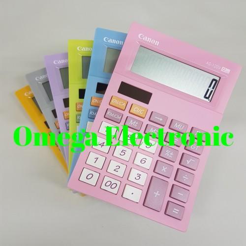 Foto Produk Canon AS-120V Calculator Desktop Kalkulator Stylish Warna Colorful AS - Ungu dari Omega Electronic