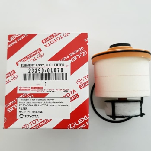 Foto Produk Filter solar fuel filter innova new reborn fortuner vrz OLO70 dari grosir oli harga partai