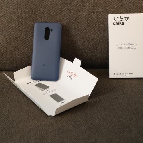 Foto Produk Pocophone F1 case ichika 100% Original BNIB Dark Blue - Biru dari muel's ipod