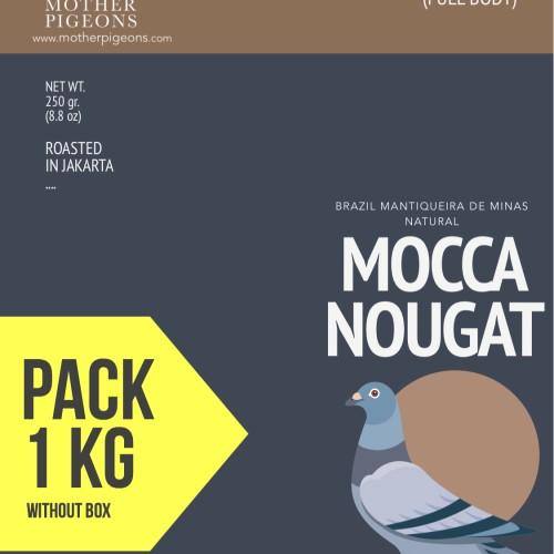 Foto Produk MOCCA NOUGAT (Brazil Mantiquieira de Minas Natural) 1 Kg PACK! dari Motherpigeons Roaster