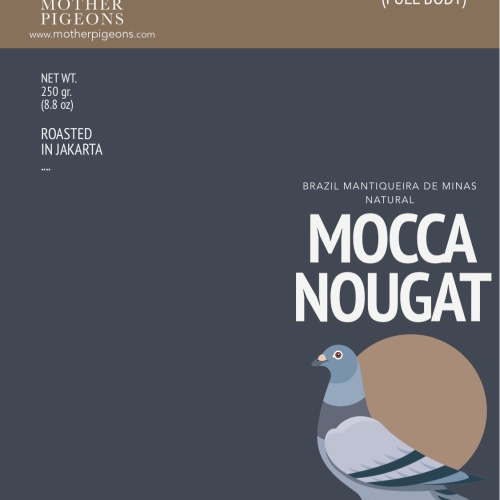 Foto Produk MOCCA NOUGAT (Brazil Mantiqueira Natural) dari Motherpigeons Roaster