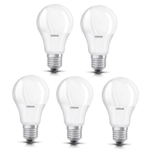 Foto Produk OSRAM Lampu LED Bulb 9W - Cool Day Light/Putih (Isi 5 PCS) dari crystalhoki