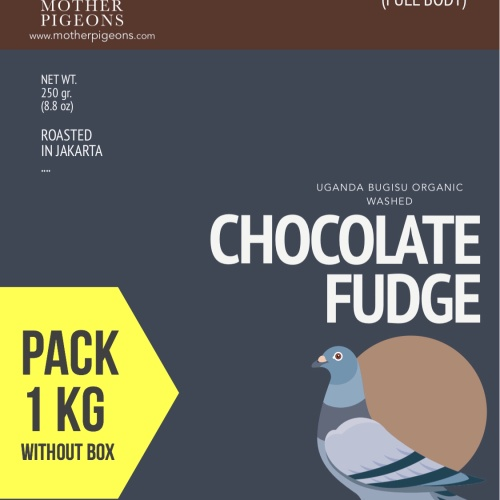 Foto Produk CHOCOLATE FUDGE (Uganda Bugisu Organic Washed) 1 Kg Pack! dari Motherpigeons Roaster