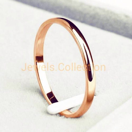Foto Produk [100% Anti Karat] Cincin Tunangan Titanium Steel 316L - Black, 5 dari Jewels-Collection