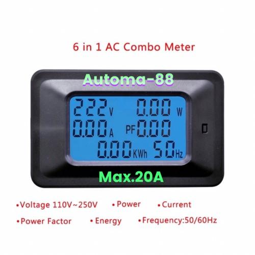 Foto Produk Watt meter Energy meter KWH meter Tegangan AC dari Automa-88