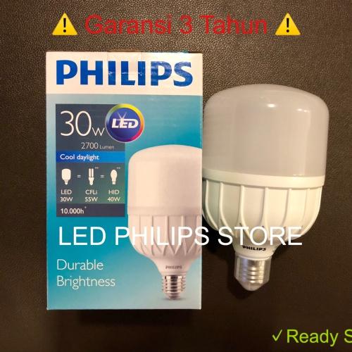 Foto Produk Lampu LED Philips 30W 30Watt 30 W 30 Watt PUTIH (Pengganti 33W 33Watt) dari LED Philips Store