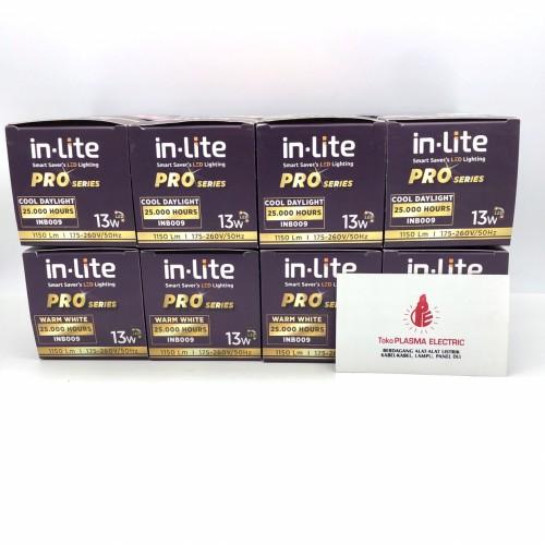 Foto Produk LAMPU LED PAKET 13W 13 W 13WATT 13 WATT PAKETAN INLITE IN-LITE dari Plasma electric
