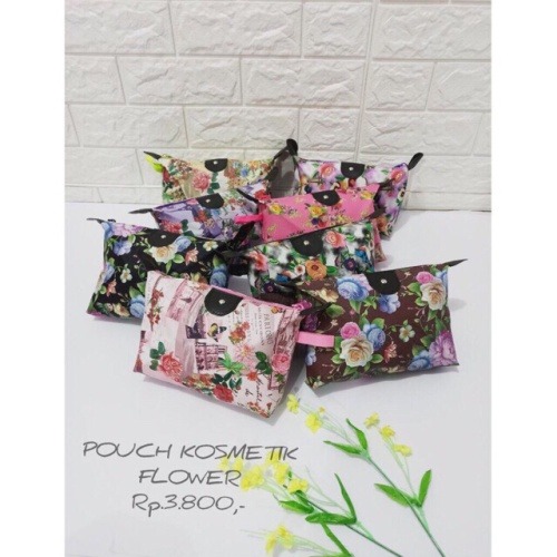 Foto Produk tas pouch motif tas kosmetik make up colourful dari Blenda Autumn Shop