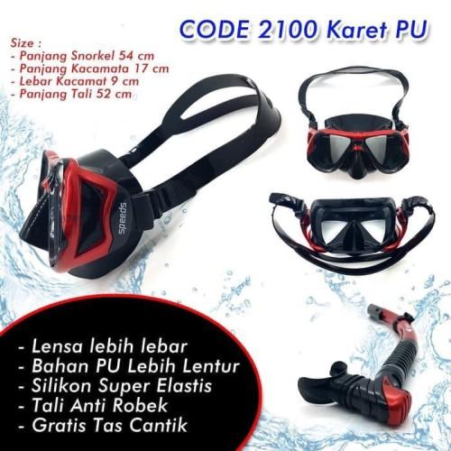 Foto Produk Maks diving-alat selam-snorkeling-renang selam-masker snorkel dari LELUTO SPORT