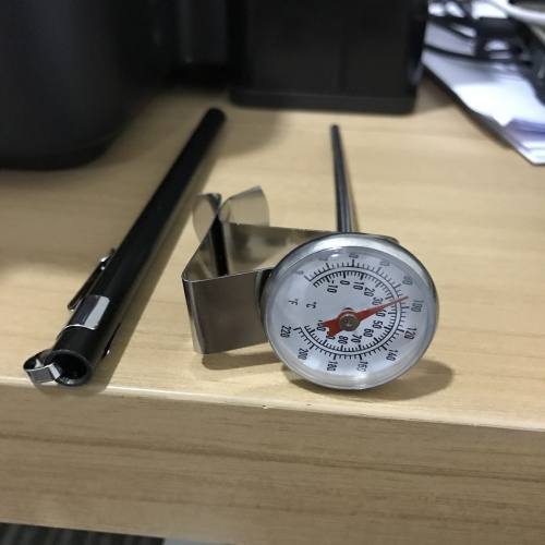 Foto Produk Thermometer ukur suhu air panas / thermometer dapur / alat ukur cairan dari vesper