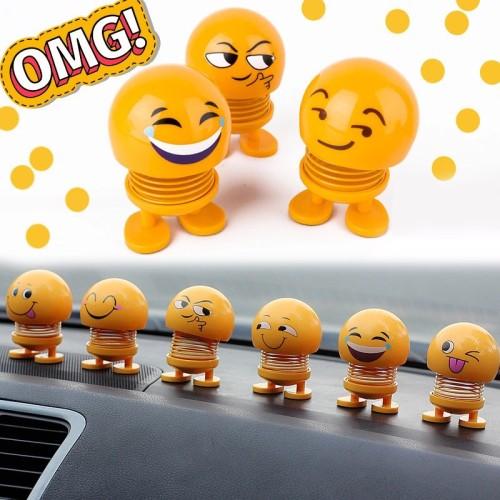 Foto Produk Boneka Pajangan Emoji Untuk Dekorasi Mobil Dan Meja dari CICAQGO