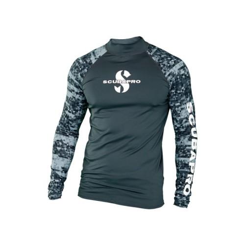 Foto Produk Wetsuit Rashguard Graphite UPF 50 Scubapro Grey dari SeaBright