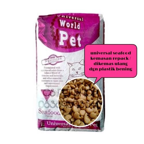Foto Produk universal seafood kemasan repack 1kilogram / makanan kucing murah dari cspethouse