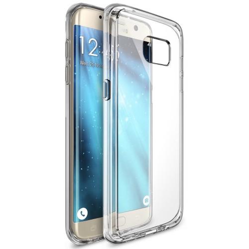 Foto Produk Totu Design Case / Casing Crystal For Samsung Galaxy S6 edge+ Plus dari Pine Premium Gadget Acc