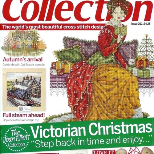 Foto Produk Cross Stitch Collection issue 202 thn 2011 dari emily collection