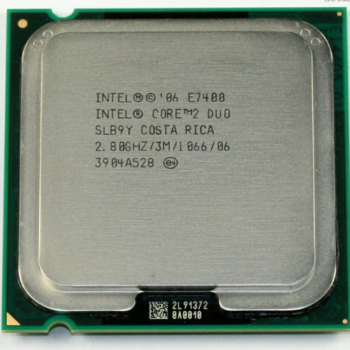 Foto Produk PROCESSOR INTEL CORE 2 DUO 2.8GHZ E7400 LGA 775 dari iconcomp