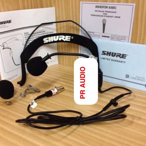 Foto Produk Mic Headset SHURE WH-20 / WH 20 / WH20 Shure Mic Headbeand (ORIGINAL) dari PR Audio