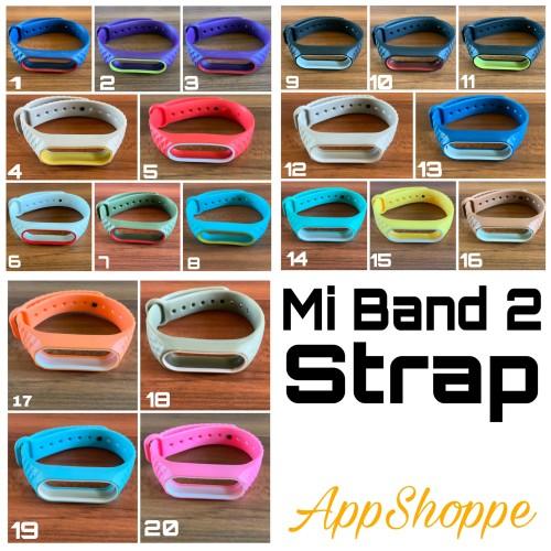 Foto Produk Xiaomi Mi Band 2 Replacement Band Strap Rugged Design dari AppShoppe