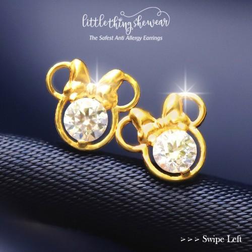 Foto Produk Anting Littlethingshewear Minnie Series - Putih dari littlethingshewearmalang