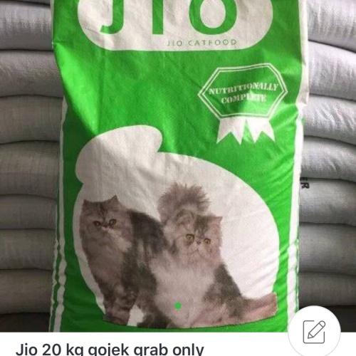 Foto Produk Jio cat food 20kg makanan kucing semua ras paling cocok dari Grosiran Petshop Bekasi
