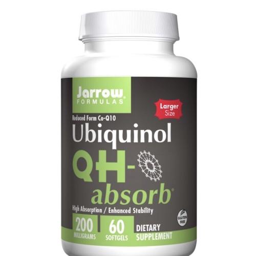 Foto Produk Jarrow Formulas Ubiquinol QH-absorb 200mg 60 softgels reduced Co-Q10 dari Winnie's Stores