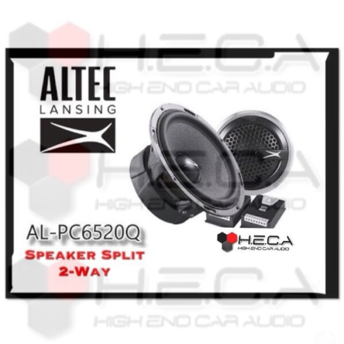 Foto Produk ALTEC Lansing AL-PC6520Q Speaker Split Pintu Mobil Component Set dari High End Car Audio
