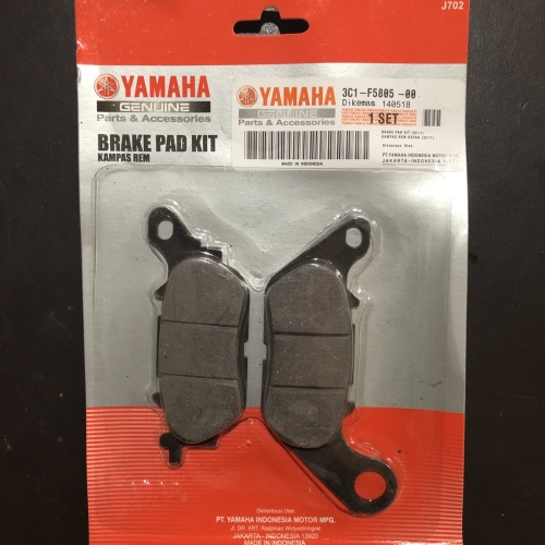 Foto Produk Kampas Rem / Dispad Depan Yamaha 3C1 Jupiter MX / Mio J / Vixion dari yaay auto part motor