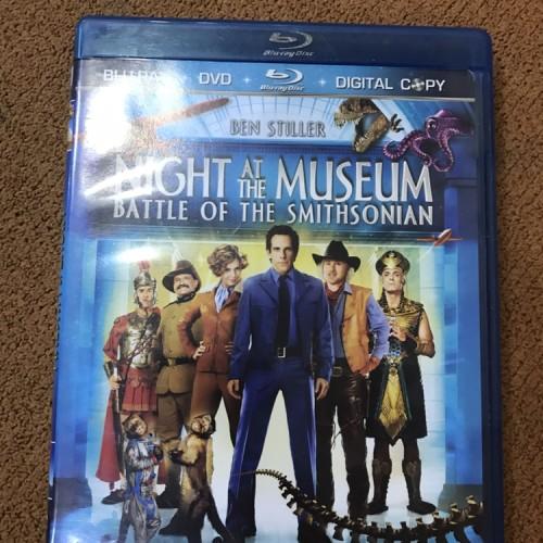Foto Produk Blu ray Night at the Museum Battle of Smithsonian Reg A US - Second dari Denzs
