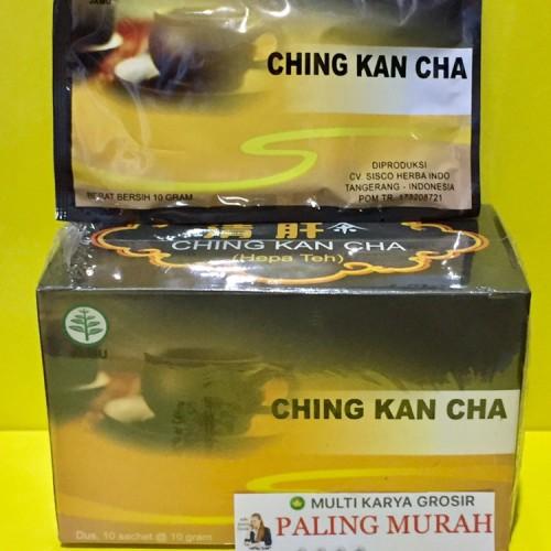 Foto Produk Ching Kan Cha Teh Sakit Hepatitis, Sakit Liver, Keringat Dingin, Masuk dari MULTI KARYA GROSIR