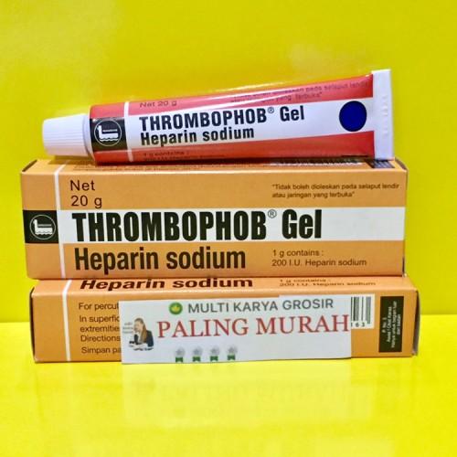 Foto Produk Thrombophob Gel / Heparin Sodium / Salep Memar / Trombopop dari MULTI KARYA GROSIR