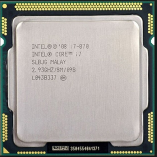 Foto Produk PROCESSOR INTEL CORE I7 870 + FAN INTEL LAG 1156 dari iconcomp