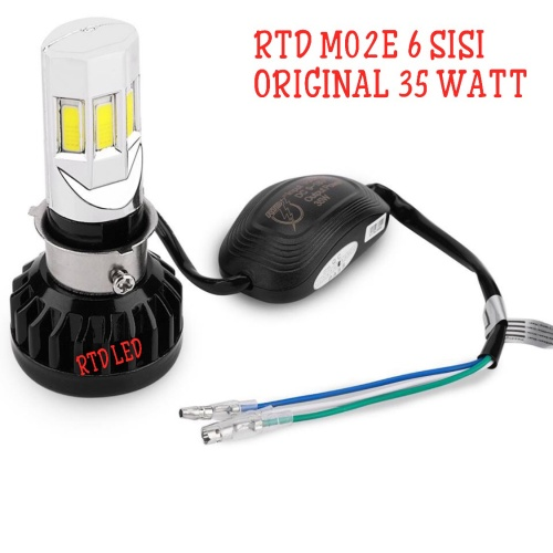 Foto Produk RTD Led Lampu Utama Headlamp LED RTD M02E 6 Sisi Original dari RTD LED