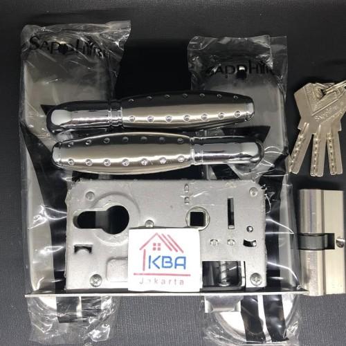 Foto Produk Kunci Pintu Rumah Ukuran KECIL NICOLE / Handle Pintu Kecil + Body dari Kana Berkat Abadi